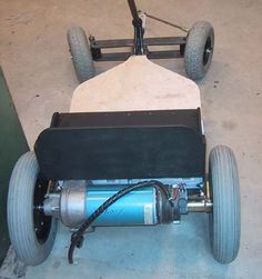 The electric powered gocart project