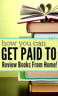 Did you love to read books? Then why not get paid for it? Here's a list of several places that do regularly pay book reviewers to review books for them. Compensation is usually in the form of cash or a free book. Make Money Money Making Ideas