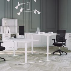 The Office, Office Desk, Inspiration, Furniture, Home Decor, White Table Top, Modern Home Office Furniture, Writing, Tripod