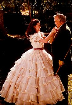 Gone with the Wind: Scarlett's White Dress...