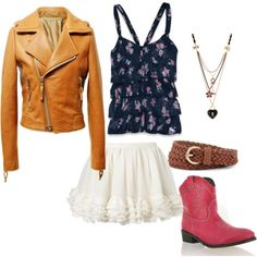 julianne hough's outfit from footloose (: