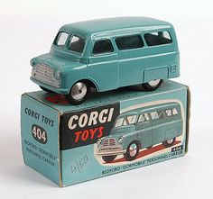 Mettoy Corgi diecast No.404M Bedford Personnel Carrier