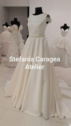 One Shoulder Wedding Dress, Wedding Dresses, Fashion, Atelier, Bride Dresses, Moda, Bridal Gowns, Fashion Styles