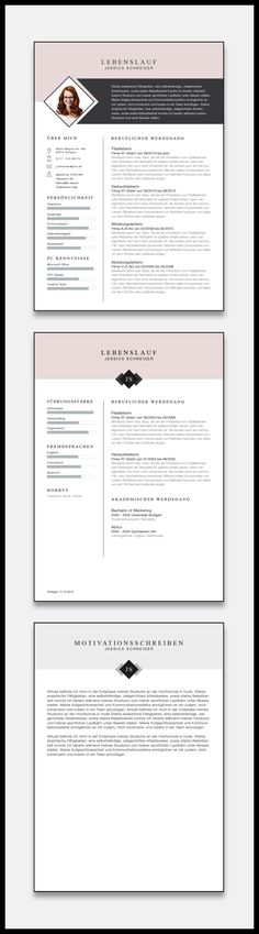 Our new application template Minimal Chart in the color Light Rose. Cv Design, Resume Design, Graphic Design, Cv Inspiration, Application Design, Resume Template Free, Cover Letter For Resume, Resume Cv, Corporate Design