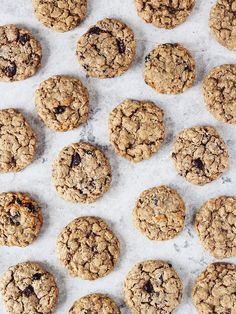 The Best Oatmeal Cookies via A Cup of Jo #recipe