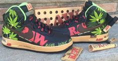 RAW Nike Air Force Ones Are Designed To Blow Your Mind