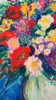 Oil Pastel Drawings, Art Drawings, Oil Pastel Landscape, Soft Pastel Art, Easy Doodle Art, Drawing Challenge, Prismacolor, Whimsical Art, Artist Painting