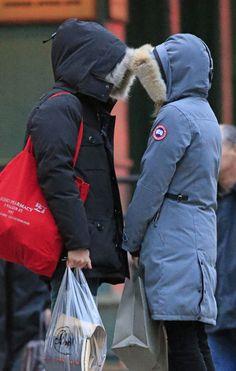 Canada Goose down online store - Homeland star Claire Danes wearing Kensington Parka | Canada Goose ...