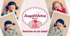 Boneca Fofinha Biscuit - AngellArtes