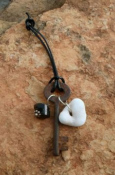 Key Door Charm by CottageInTheThicket on Etsy, $12.00