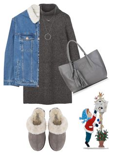 """""""Em's countdown to Christmas Day 22: Writing Letter to Santa"""" by emmers3113 ❤ liked on Polyvore featuring UGG, MANGO, Botkier, Nadia Minkoff and emscountdowntochristmas"""
