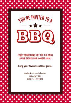 bbq invitation template free