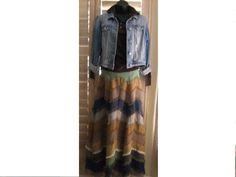 S+A+L+E++Vintage+Boho+Maxie+Skirt+1970s+Hippie+by+PureJoyVintage,+$49.58