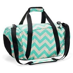 b5701a24c0f3 Runetz – Chevron Hot TEAL Blue Gym Bag Athletic Sport Shoulder Bag for Men    Women Duffel Large – Chevron Teal