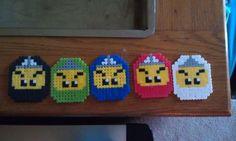 Perler beads, Lego ninjas