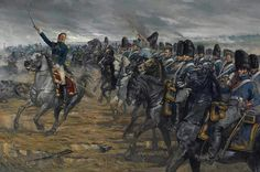 Marschall Ney - Kavallerie Attacke bei Waterloo