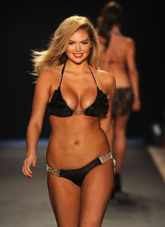 Kate Upton was told by Victoria Secret that she was too fat to model swimwear and underwear.