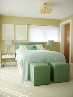 Hiding An Off Center Window Behind Bed Peaceful Bedrooms Pinterest Window Bedrooms And