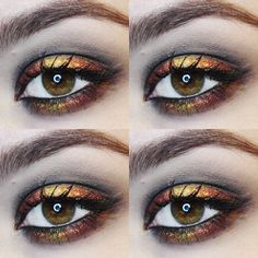 Divergent: DAUNTLESS inspired makeup by Chloe Penny