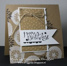 Yvonne's Stampin' & Scrap Blog: Stampin' Up! Sale-a-Bration Card!