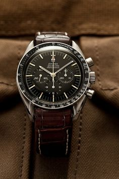 Vintage 1967 Omega Speedmaster 145.012. I'm feeling the pull to get an Omega. It won't be long now...