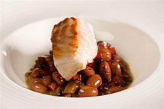 Cod and Chorizo recipe by professional chef Craig Millar Cod And Chorizo Recipes, Cod Recipes, Seafood Recipes, Beef Recipes, Seafood Dinner, Seafood Restaurant, Fish And Seafood, Cook Skins, Chef Jobs