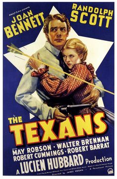 The Texans #graphicdesign #vintage #popculture #film #poster