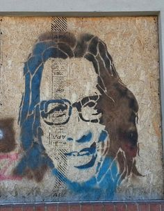 Rodriguez Graffiti on building in Detroit Searching For Sugar Man, Beautiful Stories, Detroit, Documentaries, Graffiti, Moose Art, Wax, Bronze, Artist