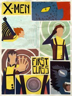 X-Men First Class by *Andry-Shango on deviantART