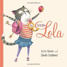 Lola is curious about everything - especially school. What is school like? Find out when Lola the cat heads to school and gets a paw (or two) into just about everything.  When an apple hits Lola the cat on the head and wakes her up, she knows it is going to be that kind of day. So when she sees something curious, she decides to follow it - right onto a school bus and into school.