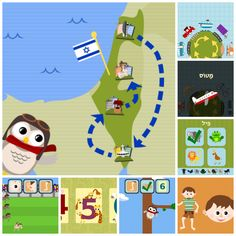 Gus on the Go Hebrew - also has other languages - downloaded and the family likes it!