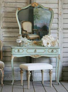 bedroom ideas, white bedroom vanity