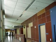 tectum- correctional interior ceiling and wall panels - designed