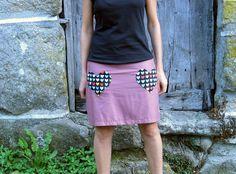 Falda :: tejido de felicidad :: von nosgustanlosretros auf DaWanda.com