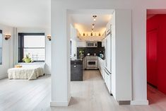 """""""I fell in love with the Madera Trade floor samples and we chose a light color/tone to brighten the apartment and make it look large."""" - Deniz"""