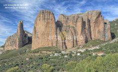 Los Mallos de Riglos, provincia de Huesca, Aragón