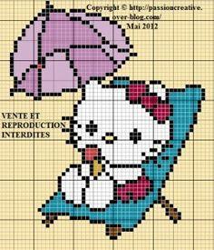 Hello Kitty free pattern - Le blog de Isabelle