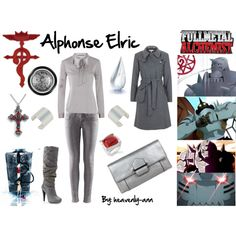 """Fullmetal Alchemist: Alphonse Elric"" by heavenly-ann on Polyvore"
