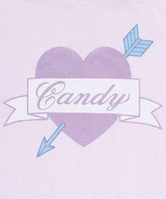 Candy Stripper LITTLE HEART CRIME SWEAT TOPS