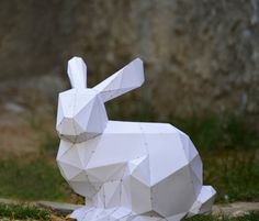 Make Your Own Bunny Sculpture. Bunny Rabbit by PlainPapyrus