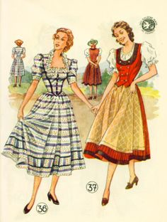 Lutterloh Dirndl 1950-16