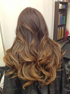 Ash brown hair or soft gold honey highlight.beautiful brunette hair color
