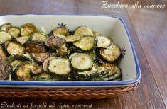 zucchine alla scapece con menta ricetta