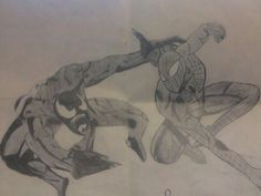 Spiderman and venom(: