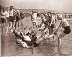 Fun at the shore