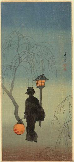 Shotei, 1918 (Japanese Woodblock Print)