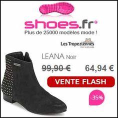 #missbonreduction; Vente flash : remise de 35% sur le LEANA Noir chez Shoes.fr. http://www.miss-bon-reduction.fr//details-bon-reduction-Shoes.fr-i852172-c1835840.html
