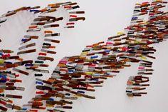 Farhad Moshiri, Life is beautiful 2009 Courtesy: Galerie Perrotin, Hong Kong & Paris