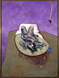 Bacon, Francis - Lying Figure (Figura tumbada) | Museo Nacional Centro de Arte Reina Sofía