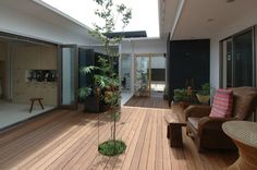 outdoors space for family